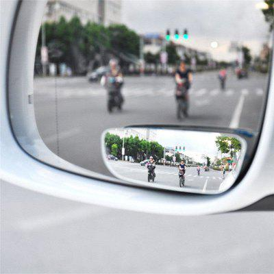 2pcs  Car Auto 360° Wide Angle Convex Rear Side View Blind Spot Mirror for Universal Car