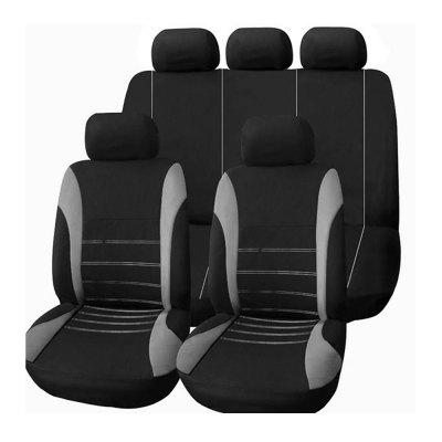 9PCS Car Seat Cover for 5-seat Car Front Seat / Rear Seat / Rear Seat Beach