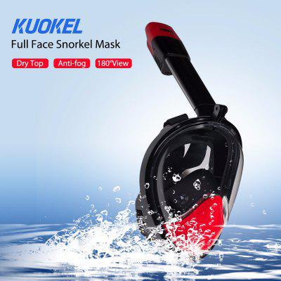 KUOKEL D - 2 Second Generation Snorkel Mask with Stand