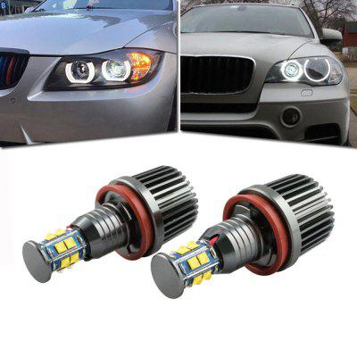 Angel Eyes Halo Ring Light Bulbs HID Xenon 6000K For BMW