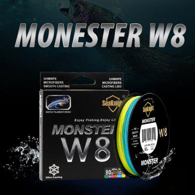 SeaKnight Monster W8 500M/300M Multicolor Fishing Line 8 Braids PE Wire