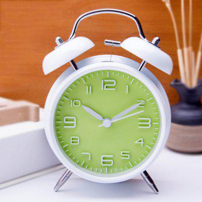 Vintage Extra Loud Alarm Clock Night Light Dual Bell Perfect Decoration