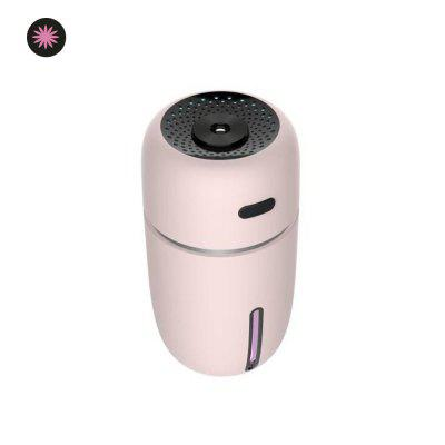 Mini LED Humidifier USB Car Office Essential Oil Air Purification Water Meter Humidifier
