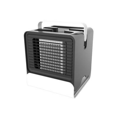 Portable Air Conditioner Cooling Fan with Night Light Low Noise USB Charging for Home Office