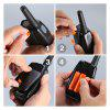 FLOUREON 8 Channel 4*Twin Walkie Talkies PMR 446MHZ 2-Way Radio 3KM Range Interphone 0range - ORANGE