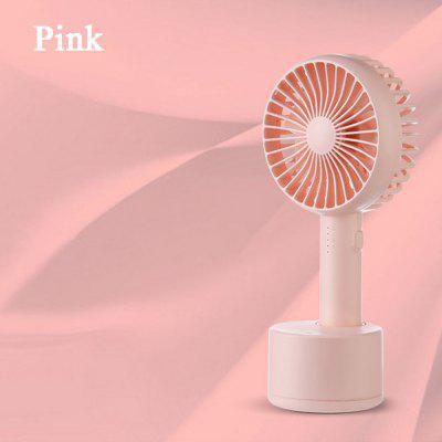 Handheld Adjustable Desktop Fan 5-speed 120° Shaking Head Mini Fan Portable Travel DC 5V USB Charging Fan With Aromatherapy Box