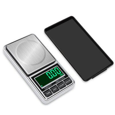 Portable Pocket Electronic Scales Jewellery Gold Medicine Weighing USB Charging LED Kitchen Scale