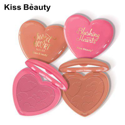 Kissbeauty love blush rouge eight colors can choose to brighten skin tone