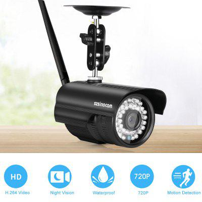 Szsinocam 720P impermeable WLAN Wireleess 1.0Megapixel seguridad CCTV WiFi IP cámara UE