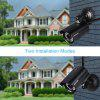 Szsinocam 720P Impermeabile WLAN Wireleess 1.0 Megapixel ONVIF Security CCTV WiFi IP Camera EU - NERO
