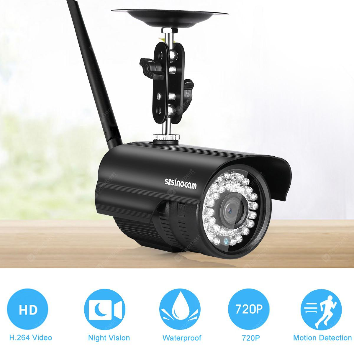Szsinocam 720P Waterproof WLAN Wireleess 1 0Megapixel Security CCTV WiFi IP  Camera EU