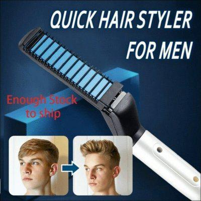 M'Styler Quick Beard Straightener Gives You A Snappy Look Instantly for Under $9 - You Won't Need a Hairstylist Anymore!