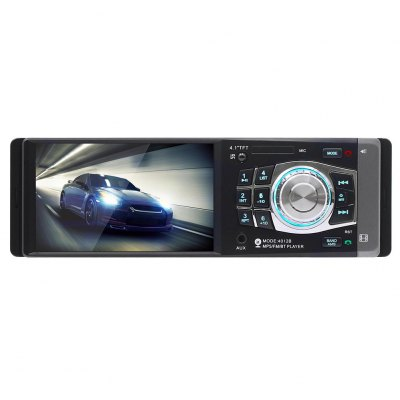 4012B Car MP5 Player 4.1ʺ Display Wireless Bluetooth FM Radio  Hands-free Calling HD Video