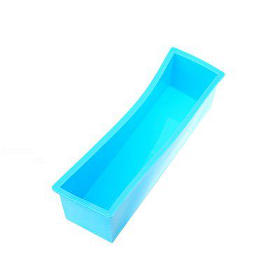 Handmade Soap Silicone Rectangle Mould Pastry Bread Bakeware 1200g