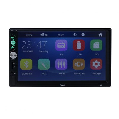 X7 Car Stereo MP5 Player 7ʺ HD Touch Screen FM Radio Wifi Connection Bluetooth