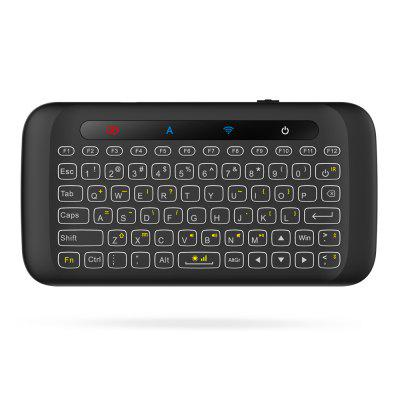 H20 Portable Mini Wireless Keyboard LED Backlight Air Mouse Wake-up Function