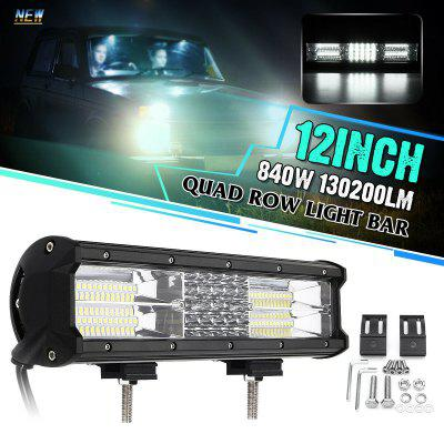 LC-4D OP-2 282W 94-LED 12 inch LED Work Light Bar IP68 Waterproof 22500LM