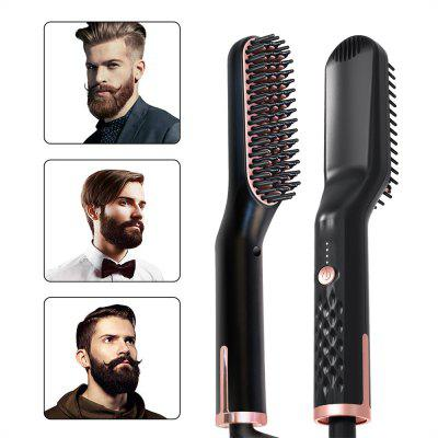 Beard comb pig bristle brush beard oil mustache cream beard water men's style straight hair comb