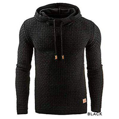 Plus Size XL-4XL Mens Winter Hoodie Warm Hooded Sweatshirt Coat Jacket Outwear Sweater