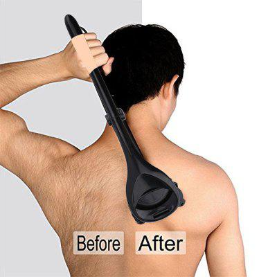 Men Over Size Two Head Blade Back Hair Shaver Trimmer Body Leg Razor Long Handle Removal Razors For hair