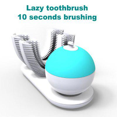 Smart Wrap Silicone Lazy Adult Automatic Toothbrush Rechargeable Automatic Inductive Charging 360 Wave Brush Toothbrush, Electric Toothbrush