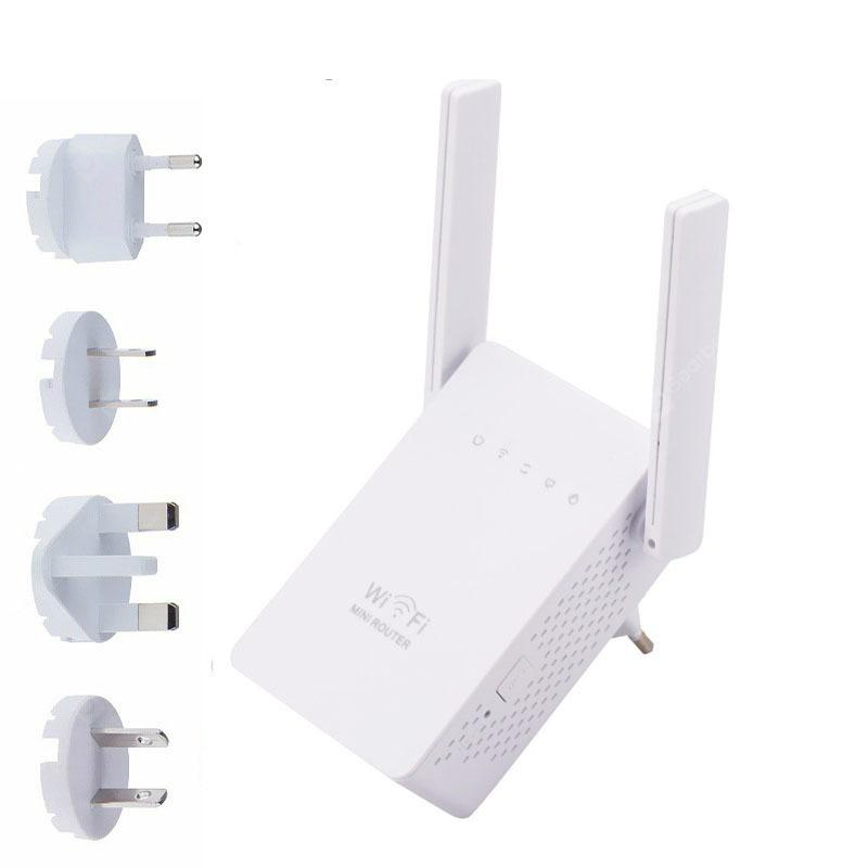 300Mbps Wireless-N Range Extender WiFi Repeater Signal Booster Network Router EU