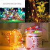 5M/10M 100 Led Fairy Lights 8 Flashing Modes Battery Operated With Remote Control Timer Waterproof Copper Wire Twinkle String Lights For Bedroom Indoor Christmas Decoration - WARM WHITE
