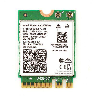 AX200NGW 2400Mbps Wireless Network Card 2.4G/5G Dual Band Wifi Bluetooth 5.0 For Intel AX200 NGFF M.2