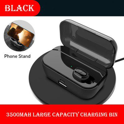 Wireless Stereo Sports Earbuds Bluetooth Earphone LED Battery Display with Large Battery Capacity Charging Bin
