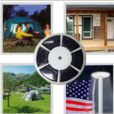 Solar  Powered 111 LED Flag Pole Light Night Super Bright Flagpole Waterproof A+++