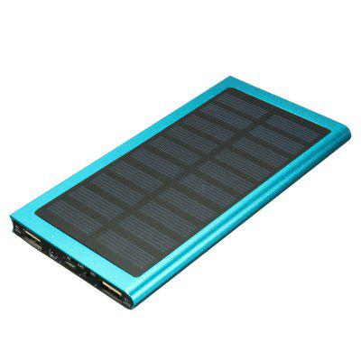 20000mAh True Solar Power Bank Battery Charger Dual USB For Mobile Phone Tablet