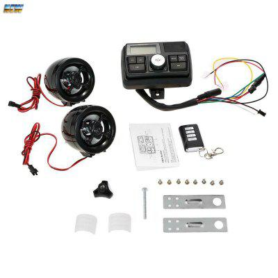 Motorcycle Sound System Audio FM Radio Stereo Speakers System Handlebar MP3