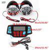 Waterproof Motorcycle Remote Control Audio FM Radio System Stereo Speaker MP3 Player - MULTI-A