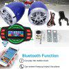 Motorcycle Handlebar Audio System bluetooth USB SD FM Radio MP3 Speaker Player - MULTI-A