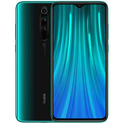 Gearbest Xiaomi Redmi Note 8 Pro Global Version 6+128GB Forest Green EU - Emerald Green 6+128GB
