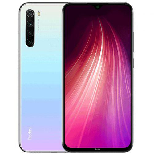 Gearbest Xiaomi Redmi Note8 Global Version 4+64GB White EU - White EU Plug