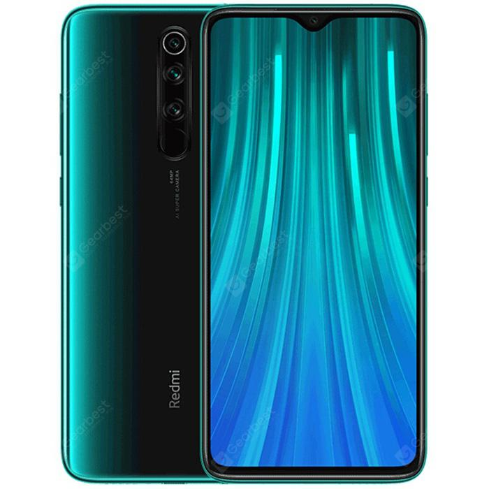 Gearbest Xiaomi Redmi Note8 Pro Global Version 6+128GB Forest Green EU