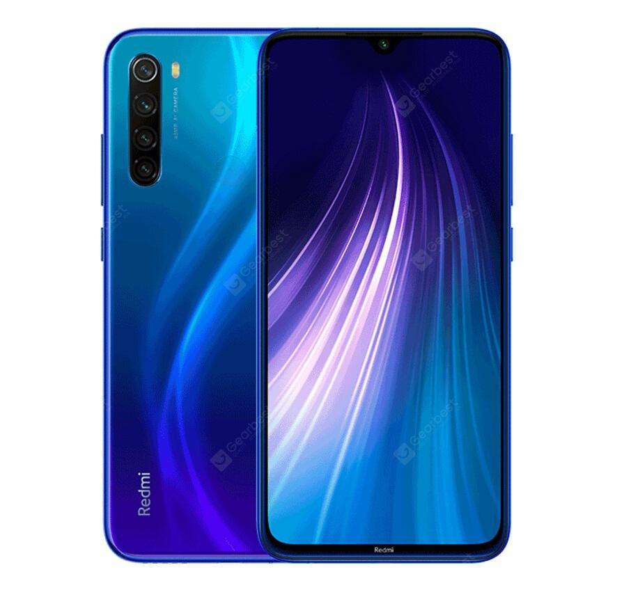 📱 Xiaomi Redmi Note 8 | 4+64GB Global - Azul