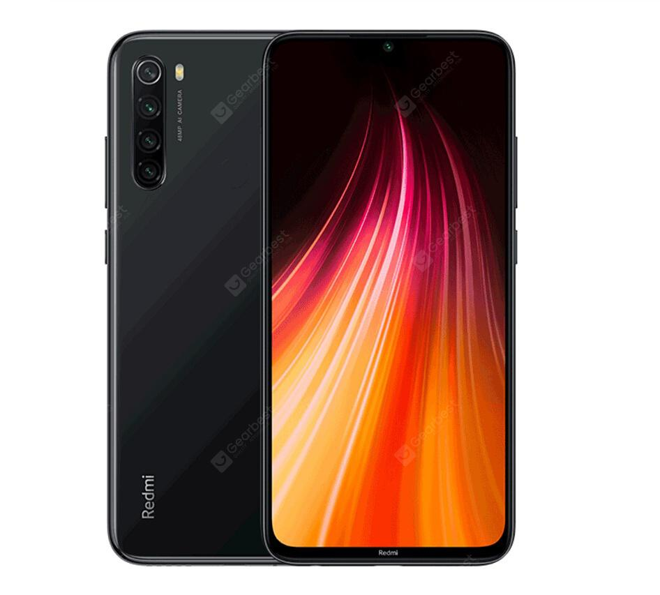 📱 Xiaomi Redmi Note 8 | 4+64GB Global - Preto