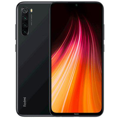 Xiaomi Redmi Note8 Versión Global 4 + 64GB Negros Azul EU