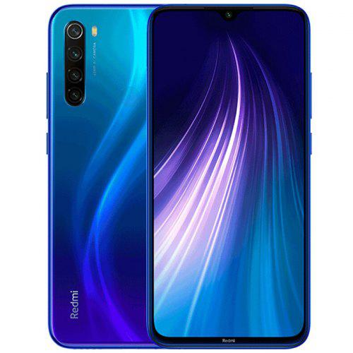 Xiaomi Redmi Note 8 Global Version 4+64GB Space Black EU 4+64 Blue