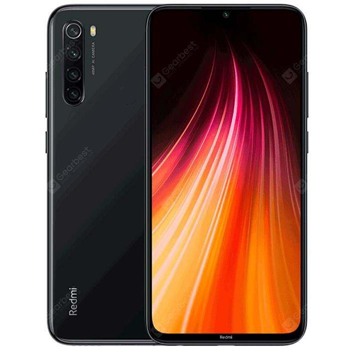 Xiaomi Redmi Note8 Глобална версия 4 + 64GB Space Black EU - Черен 4 + 64GB
