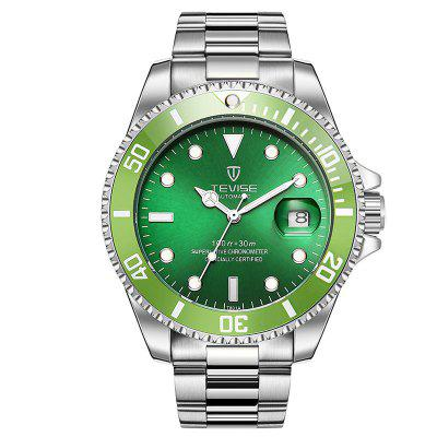Under $25! TEVISE T801A Mechanical Watch Is a Perfect Match for Men's Suits & Ties