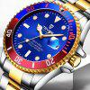 Hot TEVISE  T801A Stainless Steel Strap Men Mechanical Watch with Date Function - MULTI-B