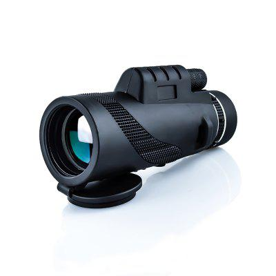Mini BR-10*52 Monocular HD 40×60 Magnification BAK4 Prism 18mm Eyepiece 55mm Objective Lens