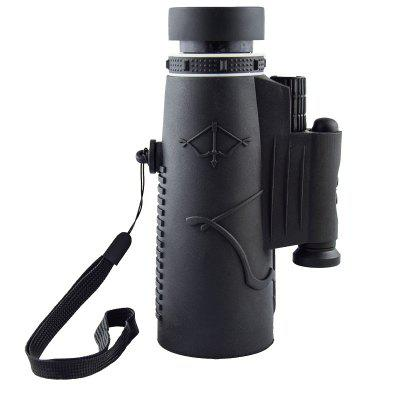 BR-10*50 Monocular Laser Light Function 17mm Eyepiece 50mm Objective Lens with Tripod Universal Clip