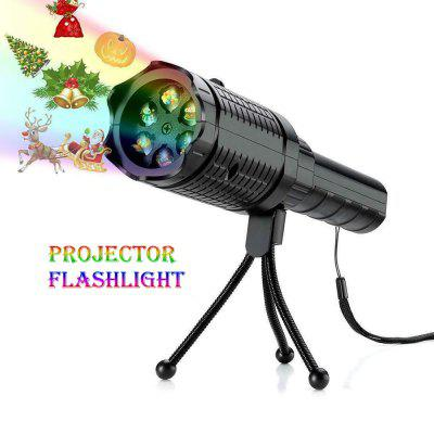 LED Projector Decoration Flashlight Festival Decoration for Halloween, Christmas Easter Birthday Party