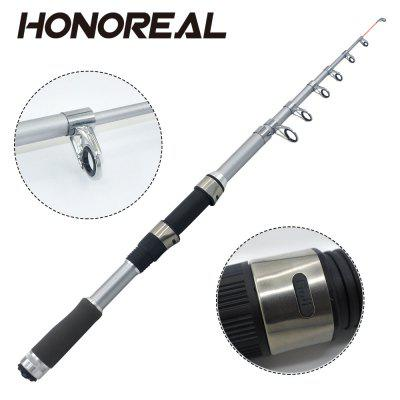 Telescopic Fishing Rod DPS Reel Seat Plastic Guide Cover 1.8/2.1/2.4/2.7m for Sea Fishing Lure Fishing