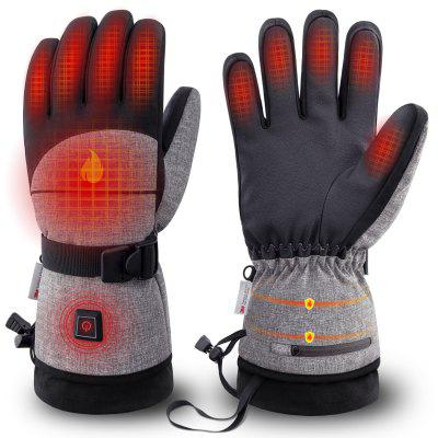 Winter Battery Rechargeable Keep Warm Electric Heating Thermo Gloves Outdoor Hand Warmer Rechargeable Battery 2500mAh 603F