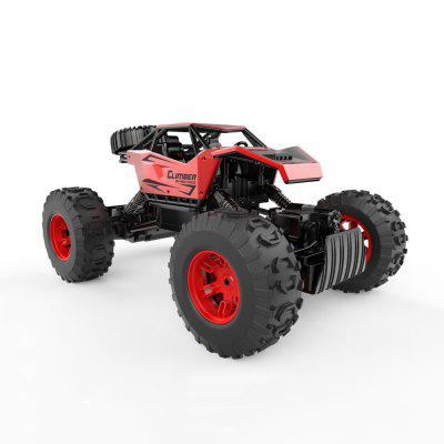 LH-C006-YW Kids Remote Control Four-wheel Toy Car Suitable for Multiple Terrains